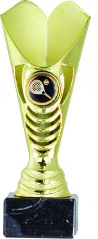 Copa ABS dorada personalizable por deporte