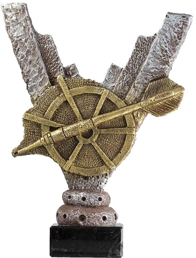 Lote 3 trofeos personalizables para su deporte 17 cm