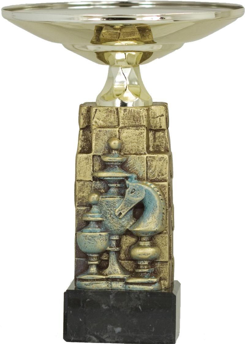 TROFEO DE AJEDREZ MODELO 1649 25 cm